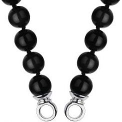 45cm Black Agate Necklace