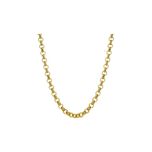 Virtue Keepsake 45cm Gold Belcher Chain