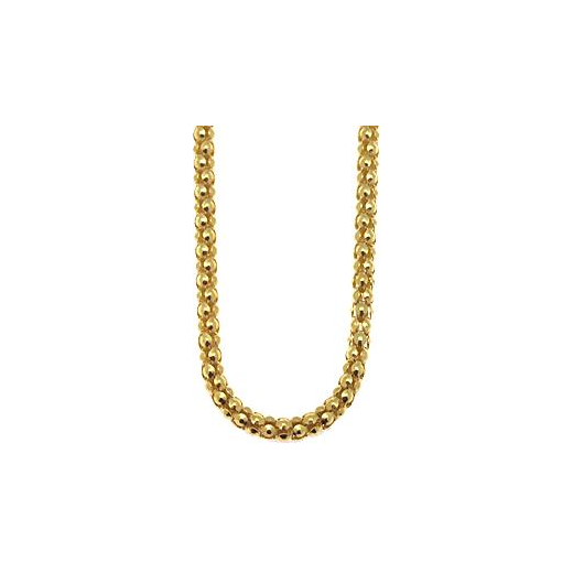 Virtue Keepsake 45cm Gold Popcorn Chain