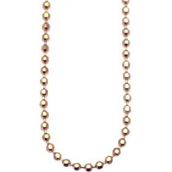 45cm Rose Gold Bead Chain