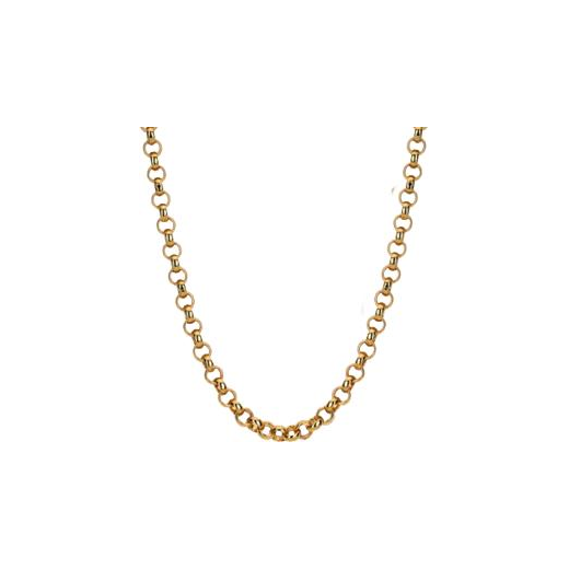 Virtue Keepsake 45cm Rose Gold Belcher Chain