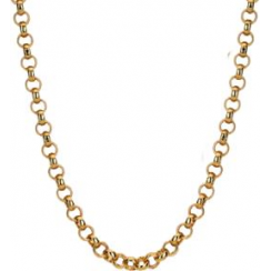 45cm Rose Gold Belcher Chain
