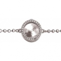 Silver 10mm Interchangeable Locket Bracelet