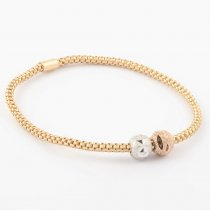 Coreana Double Bead Bangle