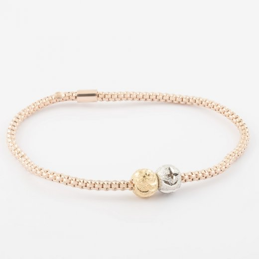 Virtue Exquisite Coreana Double Bead Bangle