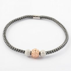 Coreana Triple Bead Bangle