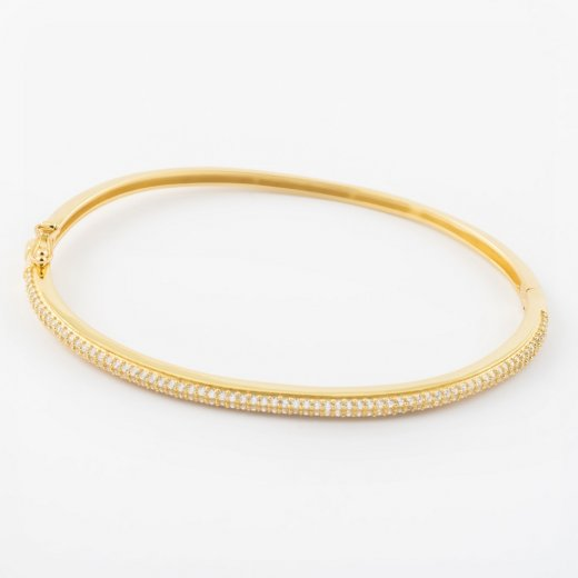 Virtue Exquisite CZ Set Bangle