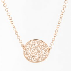 Filigree Disc Necklace