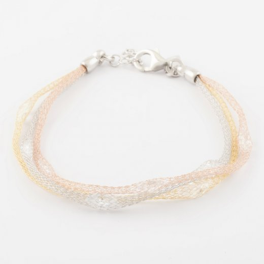 Virtue Exquisite Fine Mesh Crystal Bracelet