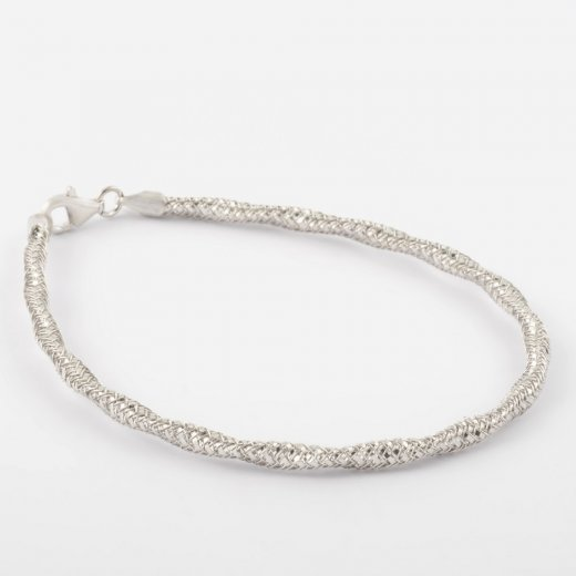 Virtue Exquisite Fine Mesh Twist Bracelet