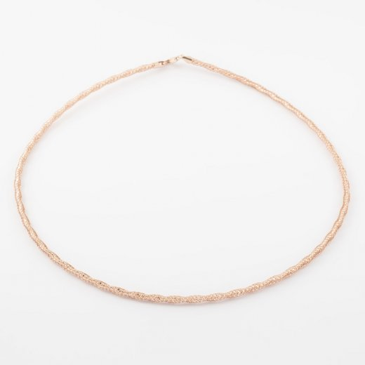 Virtue Exquisite Fine Mesh Twist Necklace