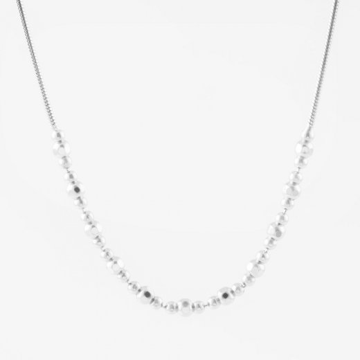 Virtue Exquisite Fine Snake Bead Necklace