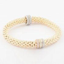 Gold Trio Ring Coreana Bangle