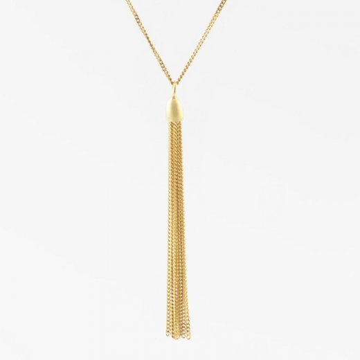 Virtue Exquisite Hanging Tassle Necklace