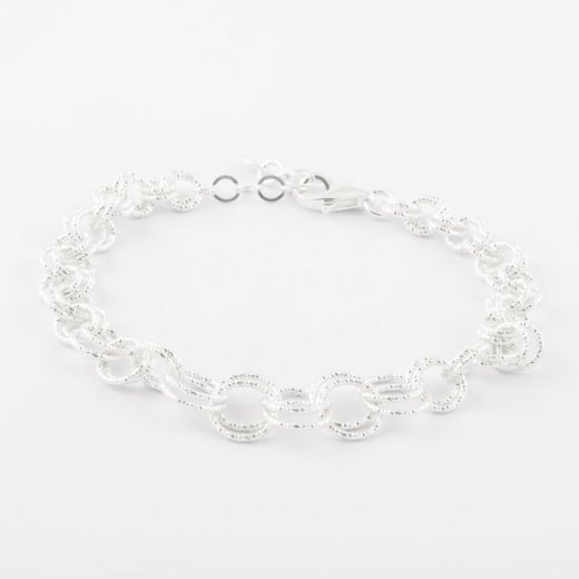 Virtue Exquisite Interlocking Ring Bracelet