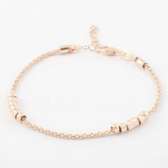 Skinny Beaded Chain Bracelet