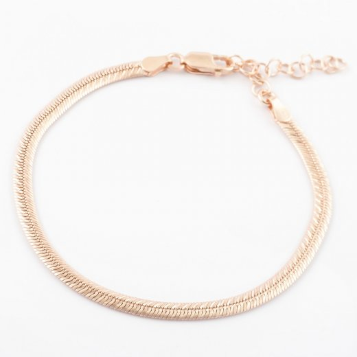 Virtue Exquisite Smooth Flat Mesh Bracelet