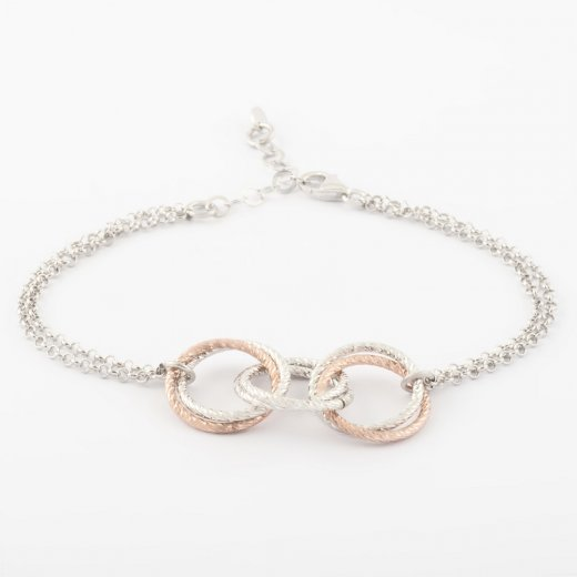 Virtue Exquisite Triple Interlink Bracelet
