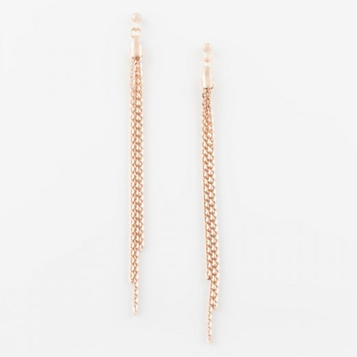 Virtue Exquisite Triple Strand Drop Earrings