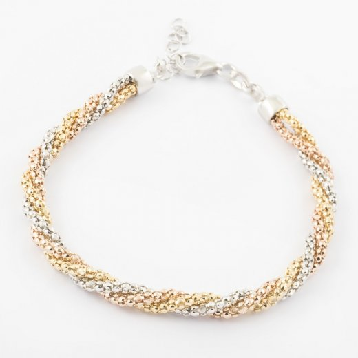 Virtue Exquisite Triple Twist Bracelet