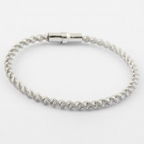 Twisted Magnetic Bangle