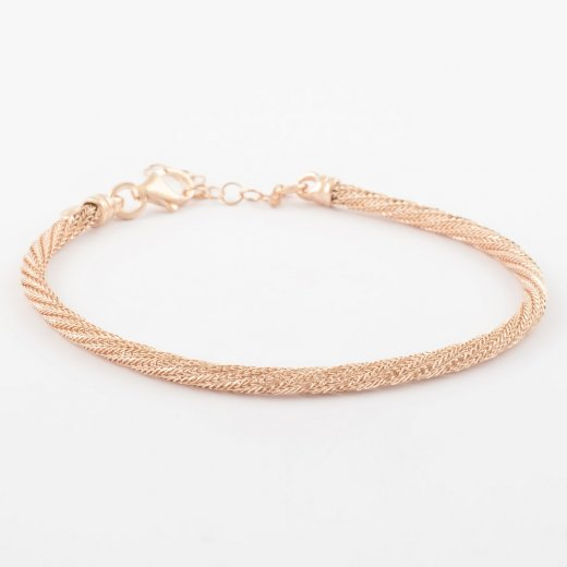 Virtue Exquisite Twisted Mesh Bracelet