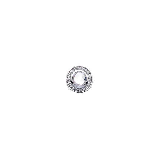 Virtue Keepsake 10mm Clear Cubic Zirconia Disc