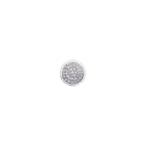 10mm Cubic Zirconia Disc