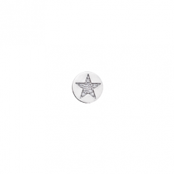 10mm Cubic Zirconia Star Disc