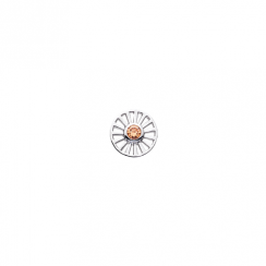 10mm Daisy Cut Out with Cubic Zirconia Disc