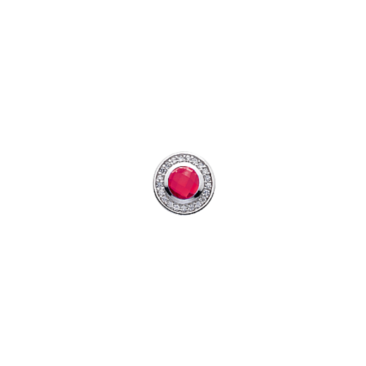 Virtue Keepsake 10mm Pink Cubic Zirconia Disc