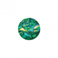 23mm Abalone Flat Disc