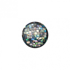 23mm Abalone Mosaic Disc