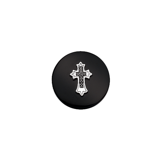 Virtue Keepsake 23mm Cross on Onyx Disc