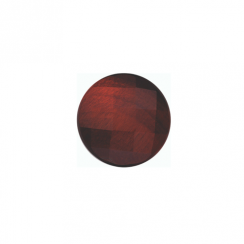 23mm Faceted Red Tigers Eye Disc