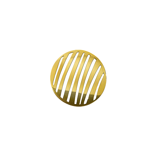 Virtue Keepsake 23mm Gold Stripe Cut Out Disc