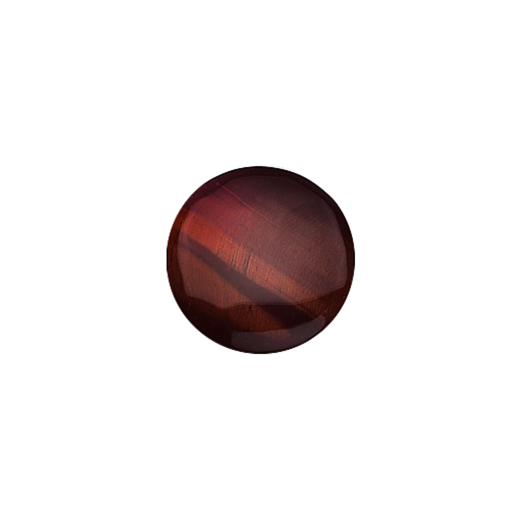 Virtue Keepsake 23mm Red Tigers Eye Disc