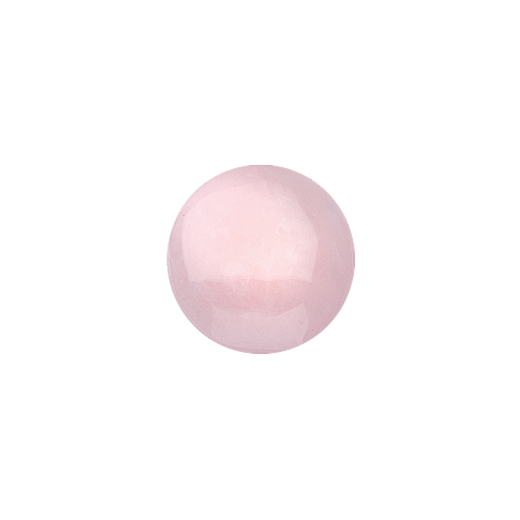 Virtue Keepsake 23mm Rose Quartz Disc