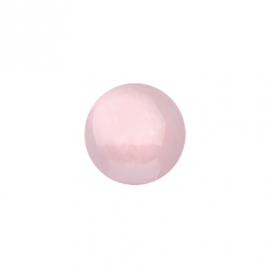 23mm Rose Quartz Disc