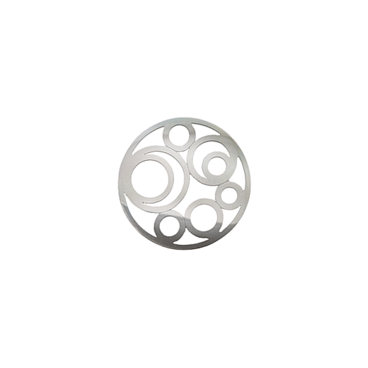 Virtue Keepsake 23mm Silver Circle Cut Out Disc