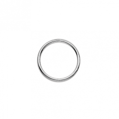 23mm Silver Dividing Ring Floating Charm Collection