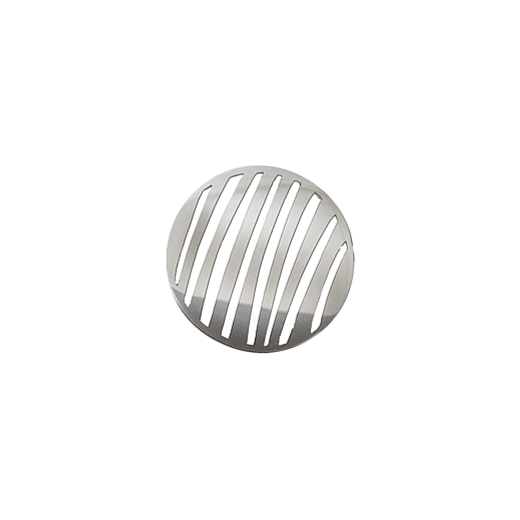 Virtue Keepsake 23mm Silver Stripe Cut Out Disc