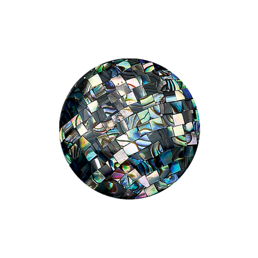 Virtue Keepsake 32mm Abalone Mosaic Disc
