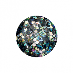 32mm Abalone Mosaic Disc