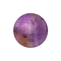 32mm Amethyst Disc