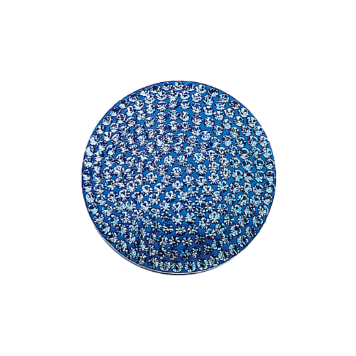 Virtue Keepsake 32mm Blue Topaz Crystal Disc - December