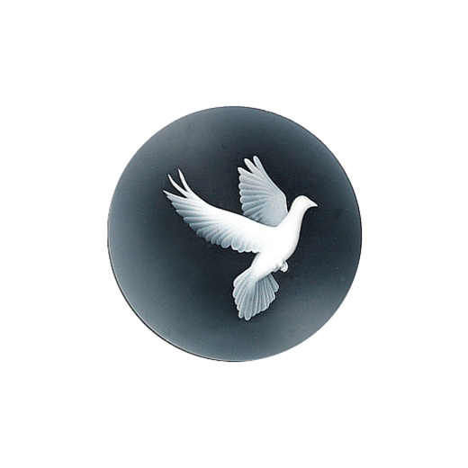 Virtue Keepsake 32mm Dove Cameo Disc