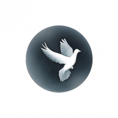 32mm Dove Cameo Disc