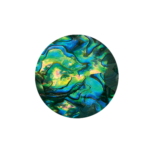 Virtue Keepsake 32mm Faceted Abalone Disc