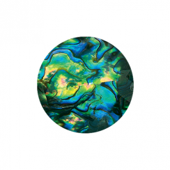 32mm Faceted Abalone Disc